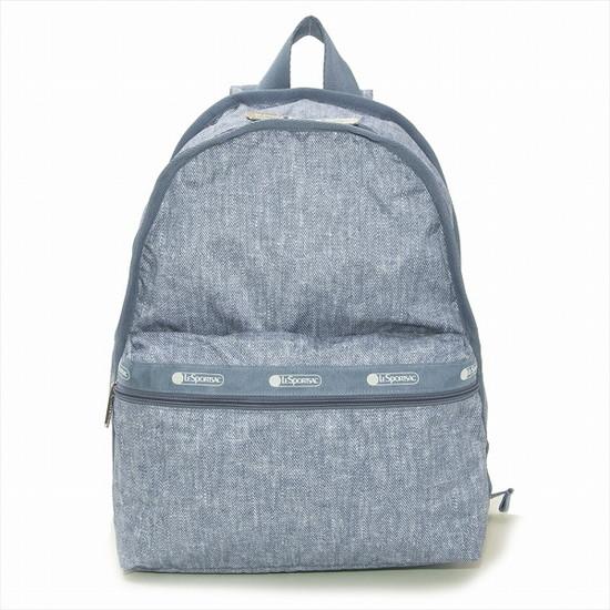 レスポートサック リュックサック 7812 LeSportsac ディパック バッグ レスポ Basic Backpack ベーシックバックパック 7812 E208 OCEAN DENIM オーシャンデニム