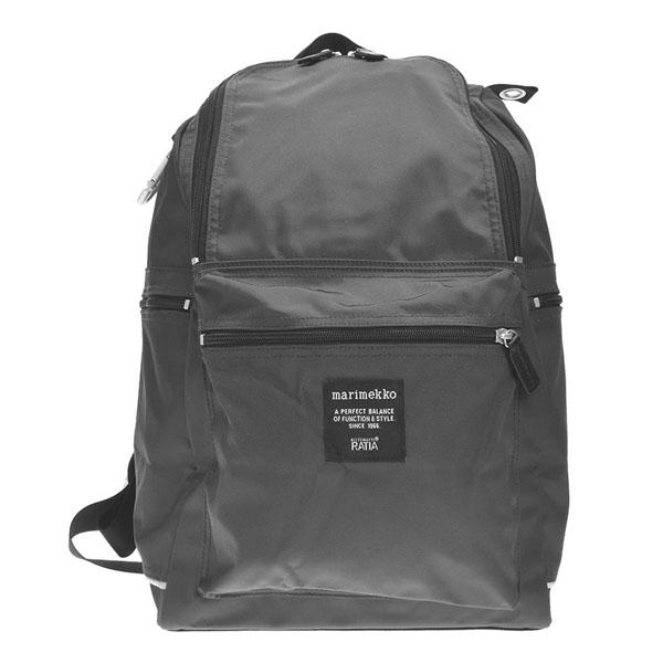 マリメッコ リュックサック[Marimekko bag バッグ](マリメッコ Marimekko かばん)バックパック マリメッコ バッグ BUDDY バディ COAL グレー 026994 900
