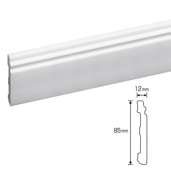 大人気! 軽量モールディング ポリスチレン ゴールデンモールハード廻り縁 巾木 NMGH002 迅速な対応で商品をお届け致します
