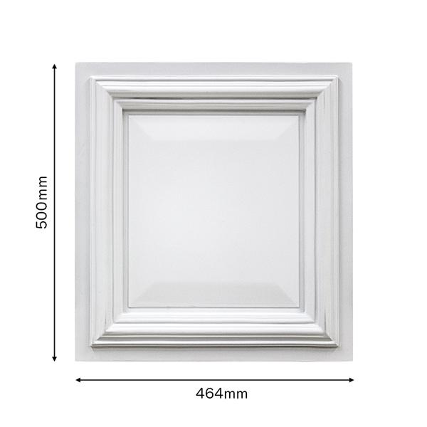 [NGPF010B]ゴルパ 壁面パネル FRP製 500×464×29mm