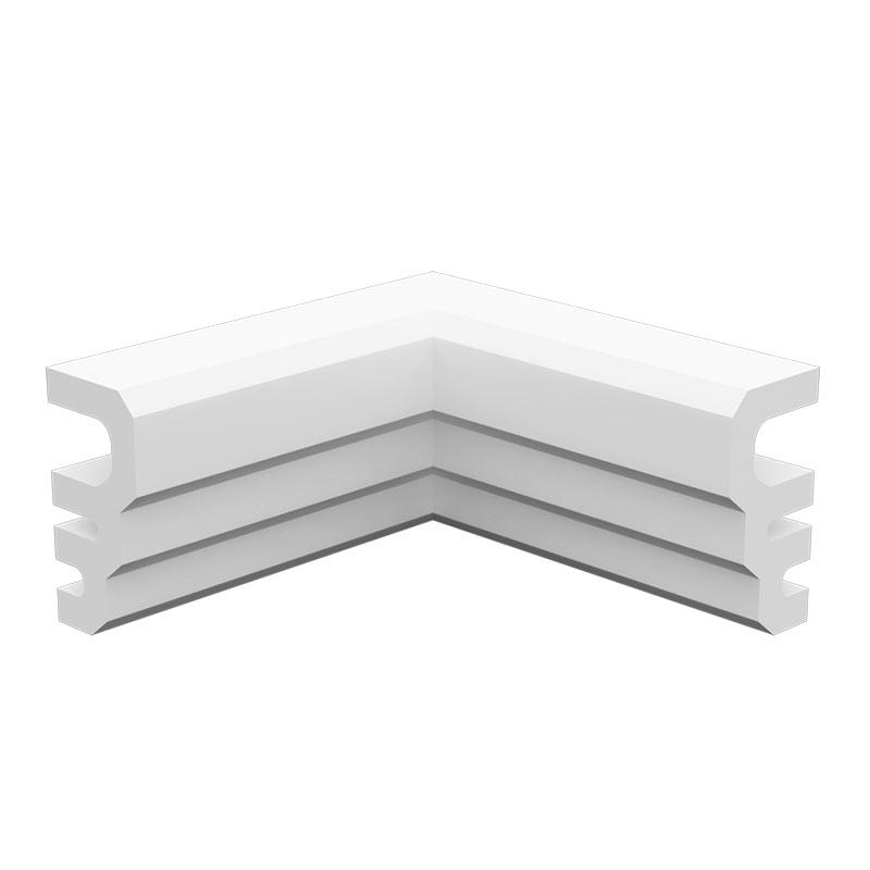 人気ショップが最安値挑戦 内装にも外装にも使えるモールディング NEX010C 不燃材料認定品 NEXモール ※送料別途見積 60×120×120mm 超美品再入荷品質至上 入隅材
