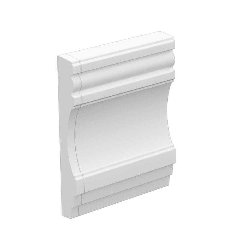 内装にも外装にも使えるモールディング 大放出セール NEX080E 不燃材料認定品 感謝価格 NEXモール 210×30×120mm エンド左 ※送料別途見積