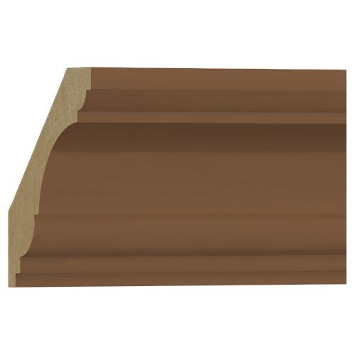 格安 アウトレット セール価格 SEAL限定商品 モールディング 木製 表面シートラッピング NRWR465F 廻り縁 100×90×3600mm ブラウンオーク色
