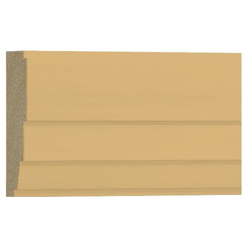 格安 アウトレット モールディング 木製/表面シートラッピング 廻り縁・チェアレール ビーチ杢色 120×40×3600mm [NRWR671B]