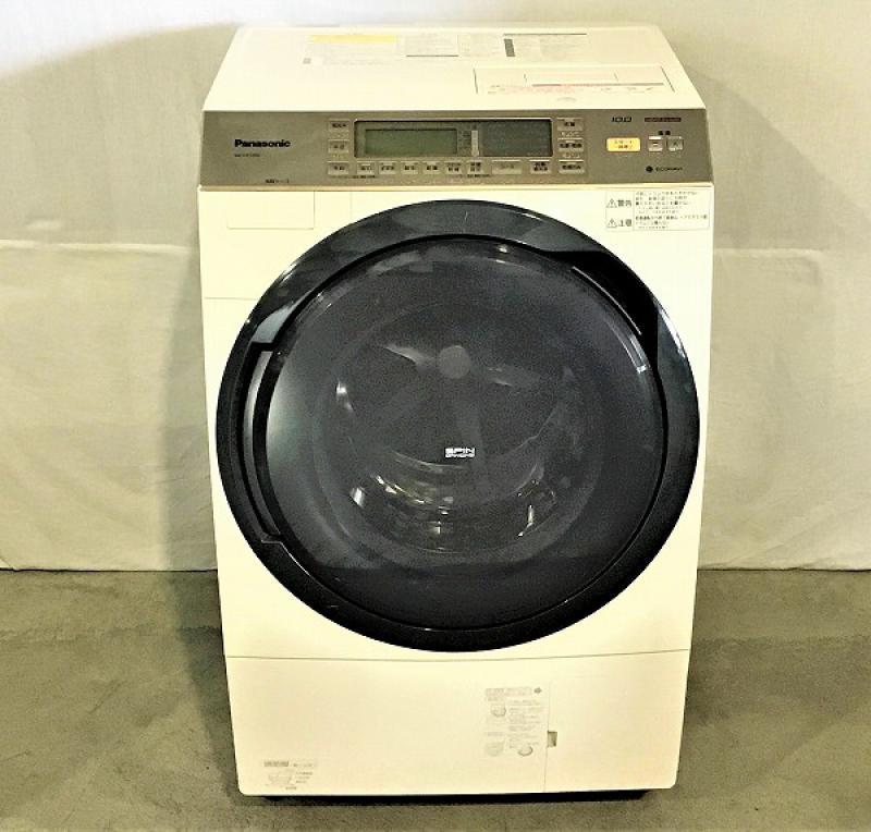 【中古品】 パナソニック NA-VX7300L ドラム式洗濯乾燥機 左開き ヒートポンプ乾燥 2014年製 10kg ノーブルシャンパン 10006298