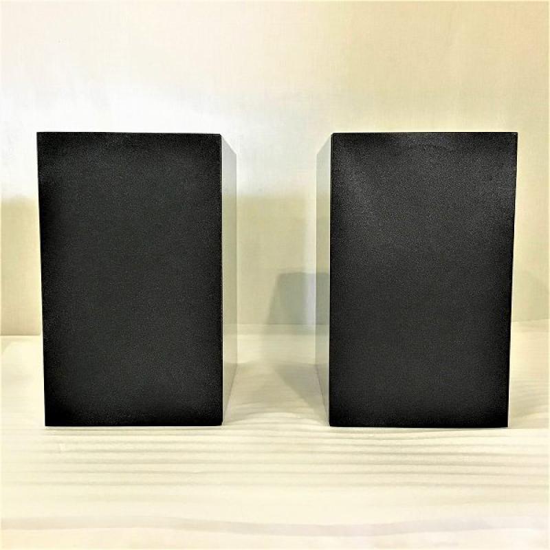 【未使用中古品】 オーラ / AURA POLO ブックシェルフスピーカー(ペア) 2ウェイ・バスレフ型 ハイグロス・ブラック 10006494