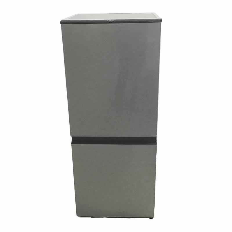 【一部予約!】 【品】 アクア / AQUA AQR-13J 2ドア冷蔵庫 右開き 2020年製 126L ブラッシュシルバー 10007975, カミノホムラ a3546db7