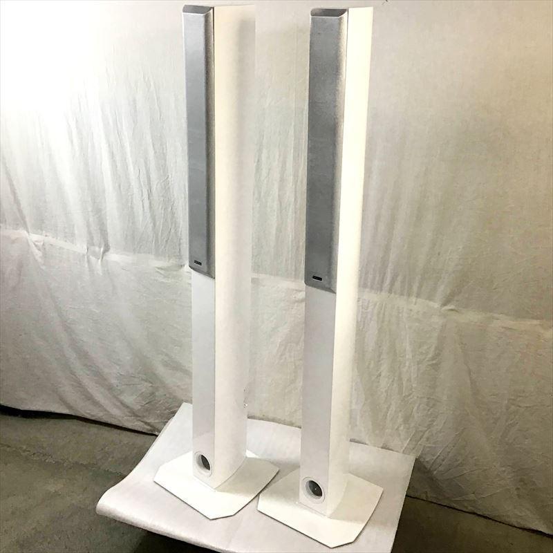 未使用中古品 デノン DENON SC-T7L2-W フロア型スピーカーシステム SALE 当店一番人気 10008372 2本1組 ホワイト