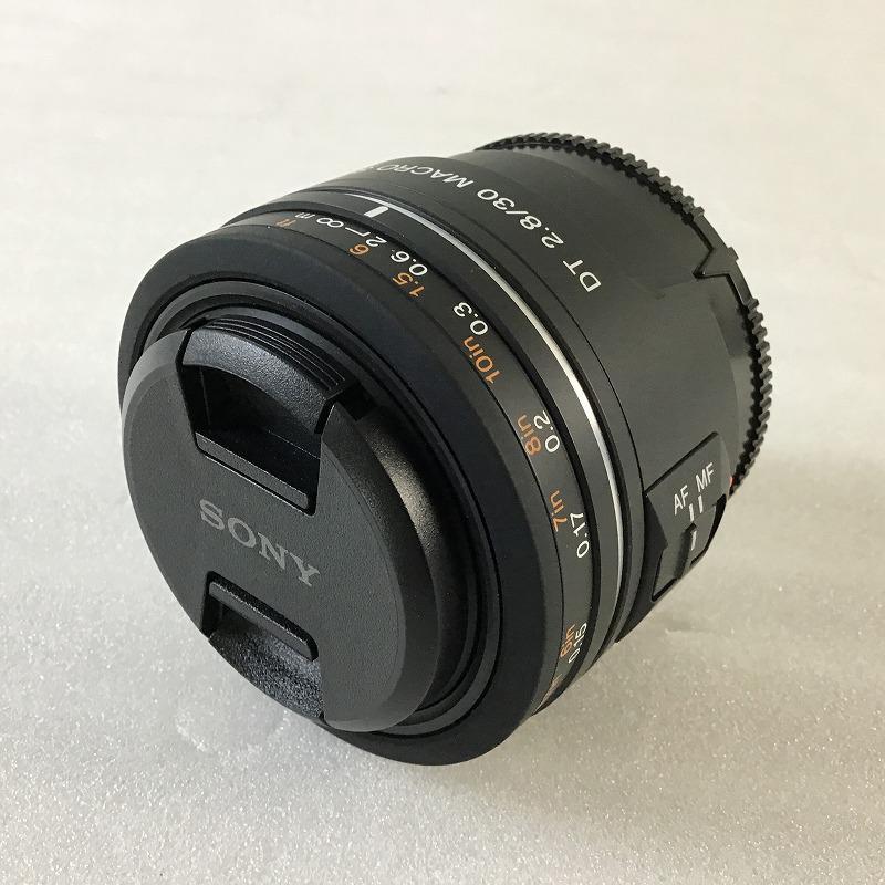 """中古品 ソニー SONY SAL30M28 デジタル一眼カメラ""""α""""用レンズ DT F2.8 30mm 単焦点レンズ 初売り SAM 送料無料お手入れ要らず Macro 10010574"""