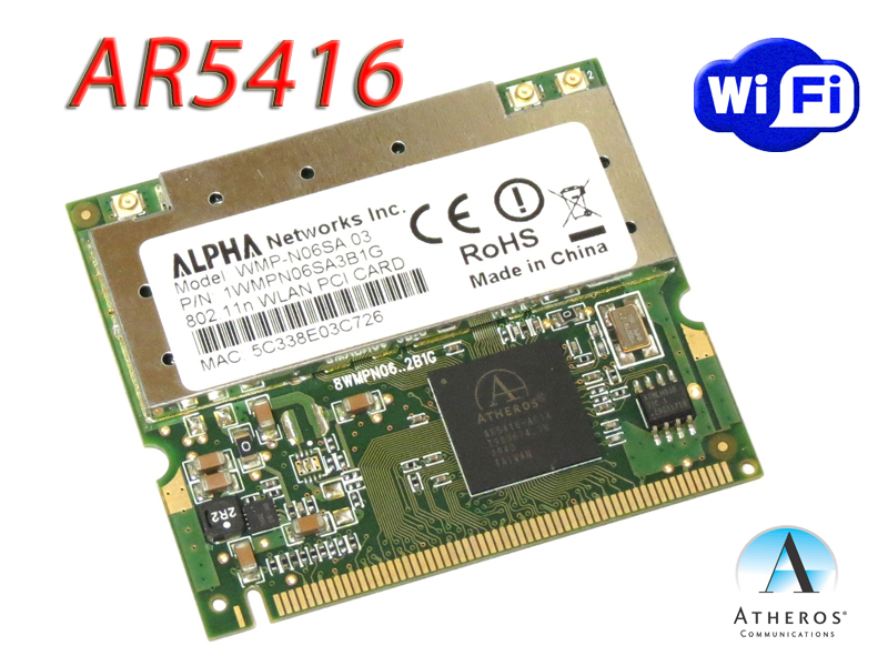 ATHEROS AR5008 AR5416 WINDOWS XP DRIVER