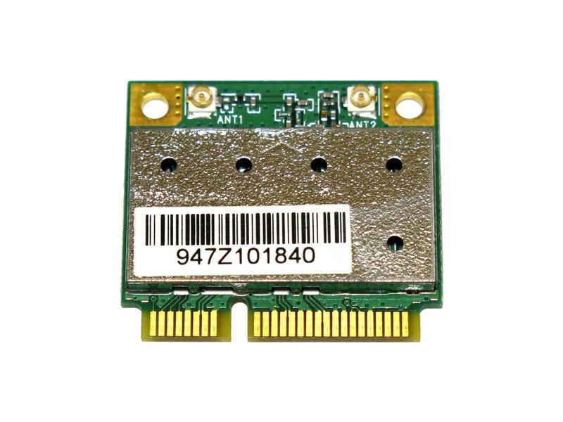 Atheros AR5B95 AR9285 シングルバンド 2.4GHz b/g/n 150Mbp PCIe mini half 無線LANカード