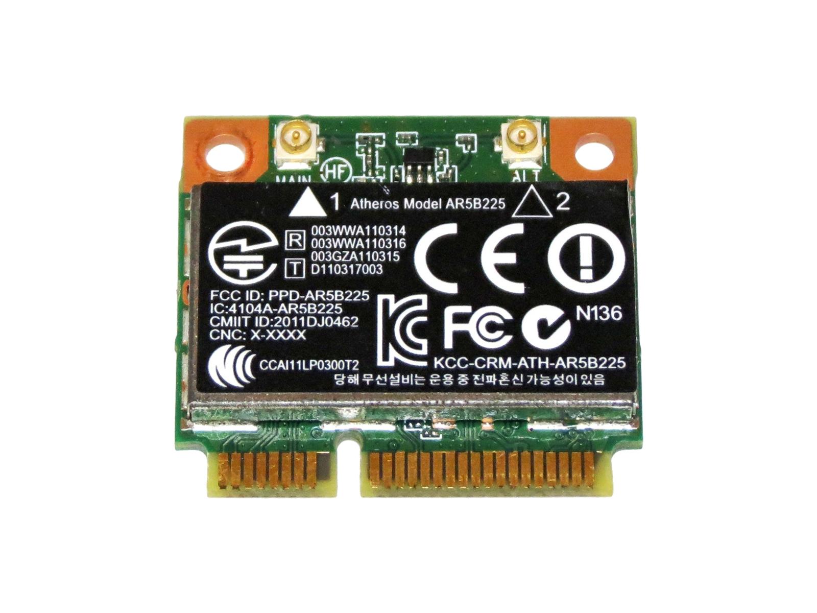 HP + 泛型锐 AR5B225 WB225 无线局域网卡 SPS #: 655795-001