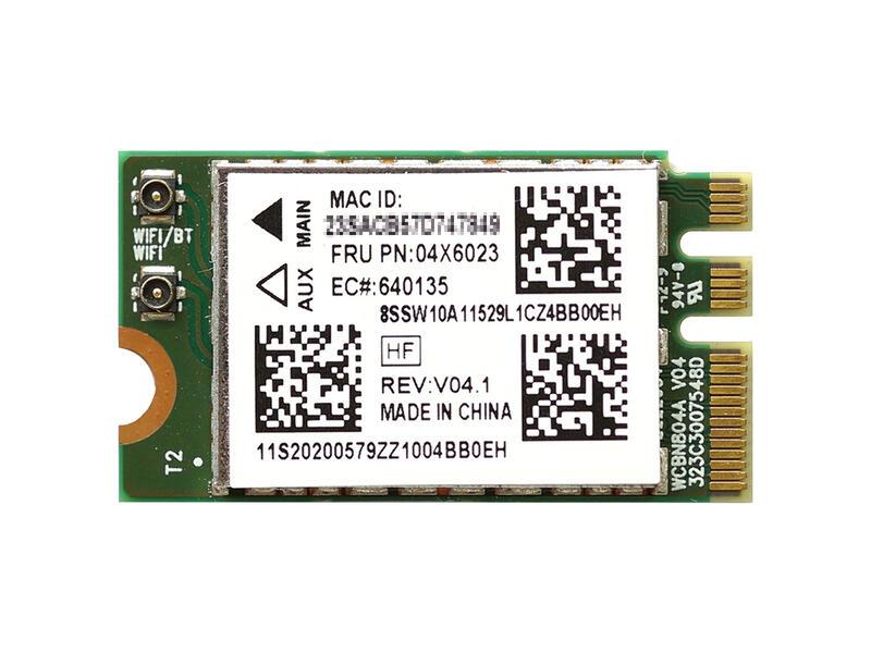ノートパソコン用WiFi Bluetoothアダプタ WLC02041 Lenovo純正 20200579 04X6023 Qualcomm セール価格 Atheros QCNFA34AC NFA345 433Mbps 802.11a b g n ac + ideapad G50 B40 送料無料 激安 お買い得 キ゛フト Lenovo 無線LANカード B50 G45 G40 BT4.1 Z50 M.2 G70 510 for Y70 Lenvo