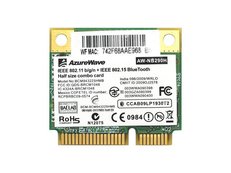 BCM943225HMB Broadcom wireless LAN card