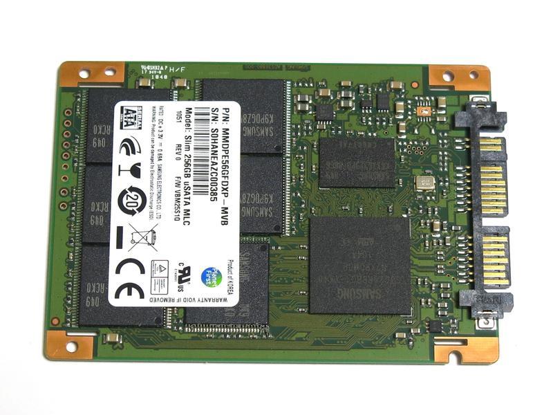 萨姆森Samsung MMDPE56GFDXP-MVB MLC 1.8英寸Micro SATA 256G SSD Slim 256GB uSATA MLC