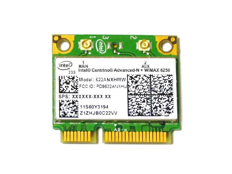 ノートパソコン用Wimax WiFiアダプタ WLC01045 Lenovo純正 60Y3195 Intel 国内即発送 Centrino Advanced-N + WiMAX 300Mbps g 6250 802.11a for n b 無線LANカード 送料無料激安祭 Wimax ThinkPad