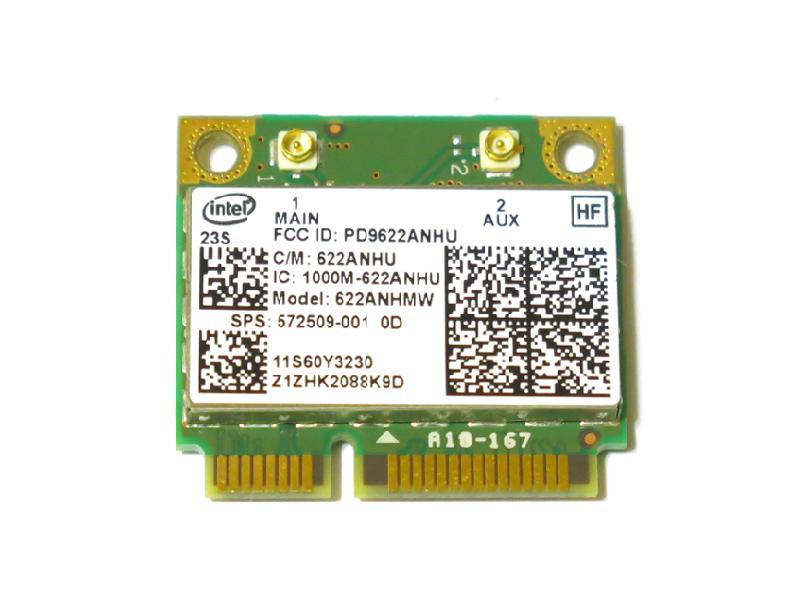 Original HP Lenovo Intel 622ANHMW 6200 Wifi Card 300M 802.11a//g//n SPS 572509-001