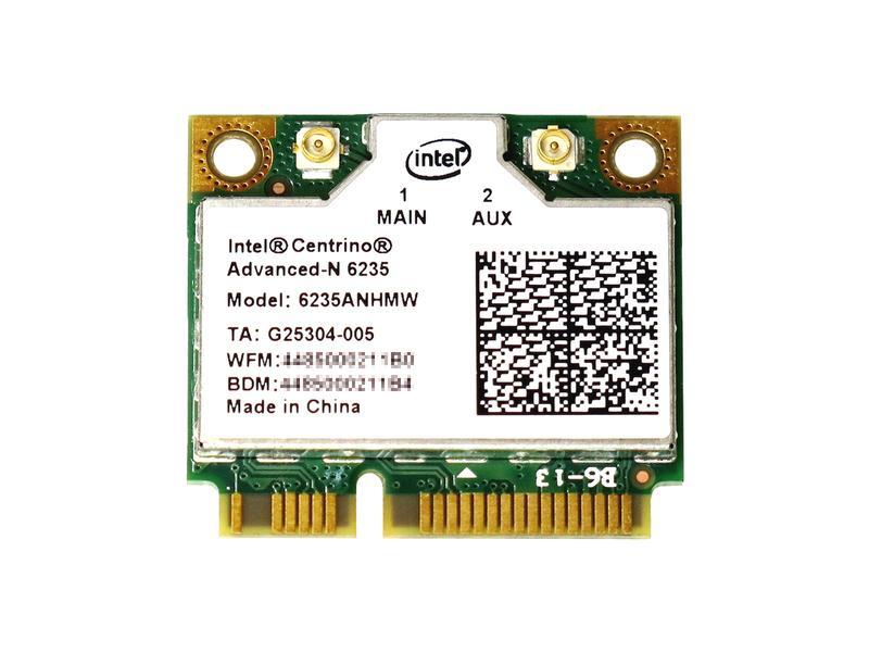 ノートパソコン用WiFi Bluetoothアダプタ WLC01054 Intel Centrino Advanced-N 6235 Dual Band 802.11a 4.0 300Mbps 日本正規代理店品 6235ANHMW n 安い + LANカード g Bluetooth b 無線
