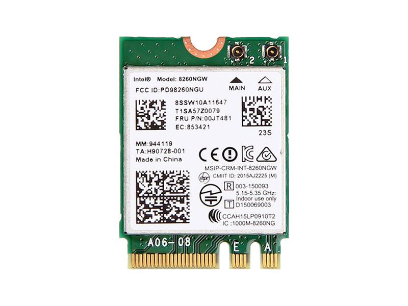 8260 867Mbps 2.4//5Ghz Bluetooth 4.2 PCI-E WiFi Wireless Card 802.11AC CO