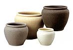 ナチュラルテイストな、どこにでも合うつぼ型♪鉢カバー 陶器 ・スピカS-1 8号鉢用【観葉植物】 観葉植物