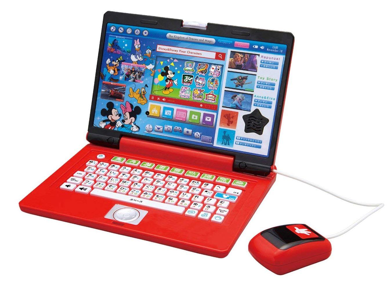 ディズニー&ディズニー/ピクサーキャラクターズワンダフルドリームパソコン ※ラッピング希望の場合は、商品名「ギフトラッピング」を同時にご注文下さい