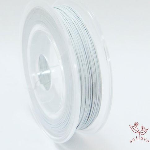カラーワイヤー ミユキ ワイヤー ケンタワイヤー 新品未使用正規品 全品メール便可 #26 KI-1 0.45mm×30m 白~グレー 5%OFF ケンタカラーワイヤー 鉄線