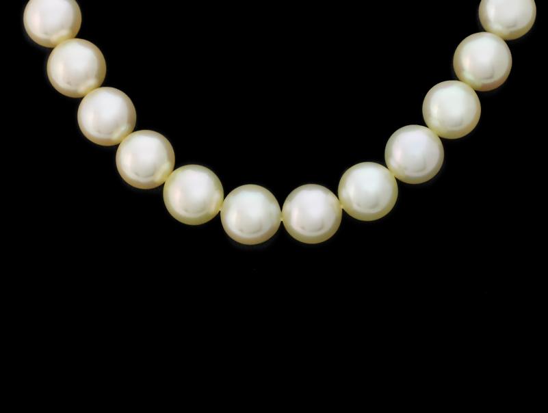 【送料無料】アコヤ・養殖真珠・パールネックレス・9,4mm・SV・シルバー金具・ゴールドカラー系・ゴールドカラー金具・ゴールドカラー系の真珠になります。ご購入の際は写真(画像)をご確認ください。【中古】