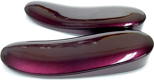 エルエルサイズ本皮ぞうり・台(ナス紫)25.0cm~26.5cm用