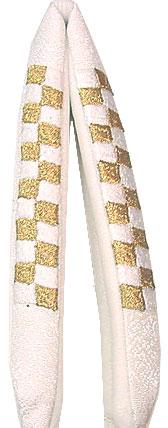 正絹・市松刺繍の花緒