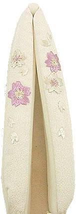 正絹・手刺繍の花緒