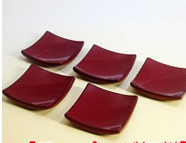 みやび箸置き 黒または朱 期間限定お試し価格 5個組おしゃれ かわいい 小皿 珍味入れ 御祝 ギフト おもしろ 割り引き 日本製 セット