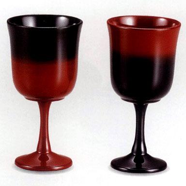 夫婦 ワインカップペア 曙【送料無料】【名いれ】【ペア】