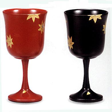 夫婦 ワインカップペア 春秋【送料無料】【名いれ】【ペア】
