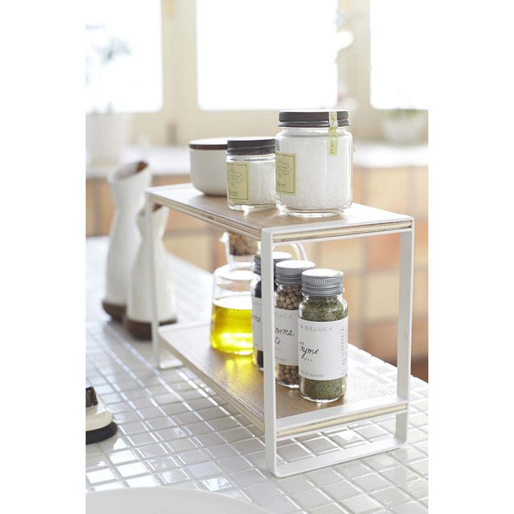 Kitchen rack Tosca white 7816