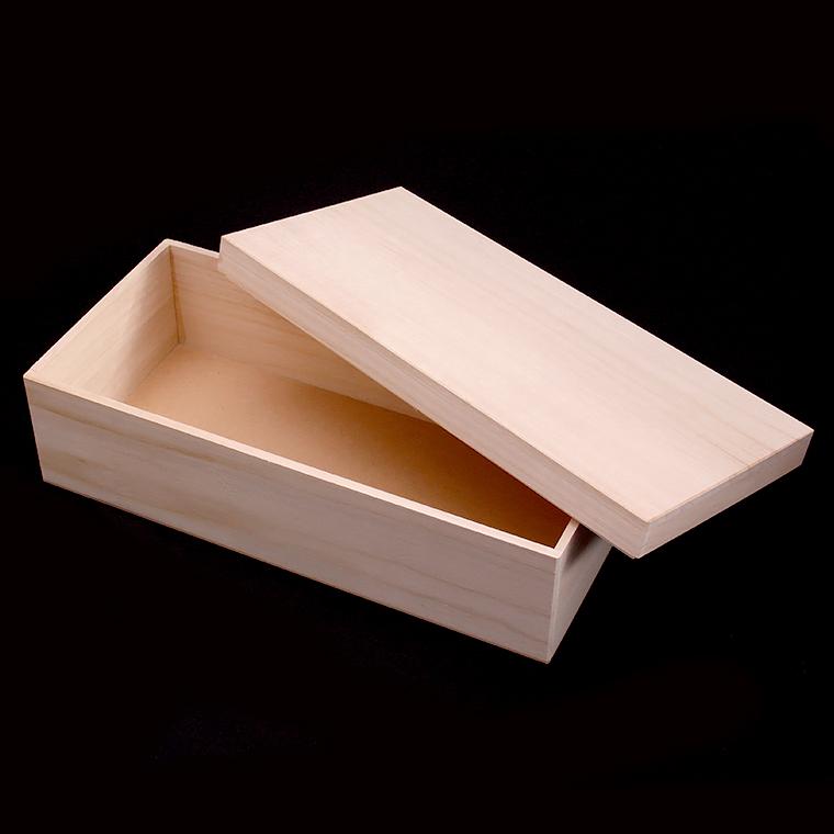 お茶碗とお箸など色々詰め合わせできます 引き出物 桐箱 無地 木箱 ボックス ギフト用 信憑 ラッピング 贈答用