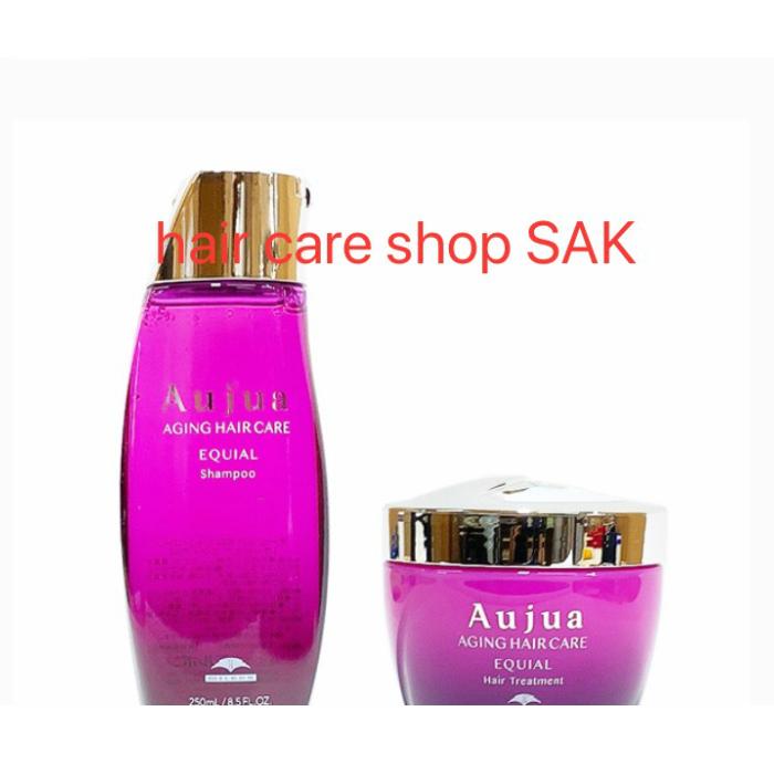 ミルボン オージュア エクイアル シャンプー 250ml ヘアトリートメント 250g セット(Aujua)(セット販売のみの購入になります):hair care shop SAK