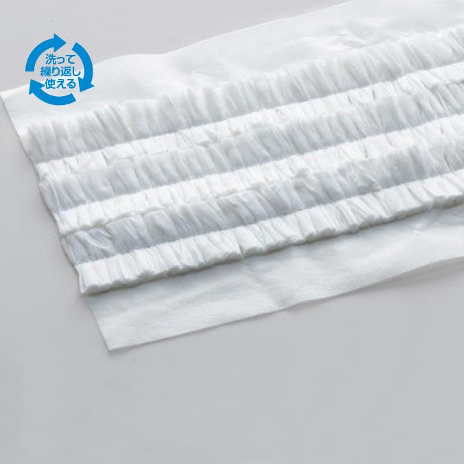 【モップ用ダスター】から拭き・吸水用 ライトダスターW(モップサイズ60cm)(ケース販売120枚入)(テラモト CL-352-769-0) 掃除 清掃用品