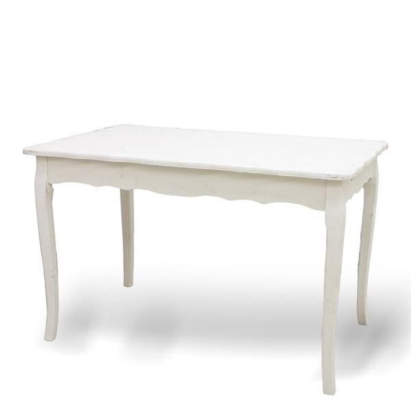 木製家具 バロックウッド ディスプレーテーブルWHITE