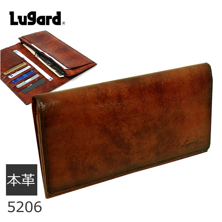 LUGARD G3 財布 メンズ 長財布 ブランド 本革 札入れ 5206 ギフト プレゼント