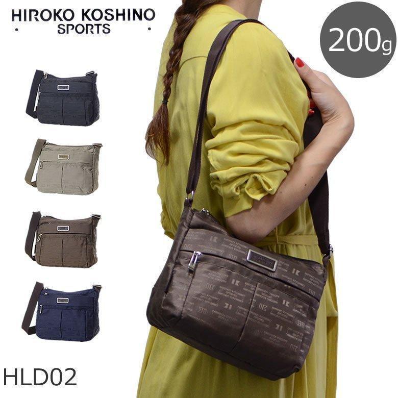 The horizontal mini-shoulder bag HIROKO KOSHINO SPORTS Hiroko Koshino on