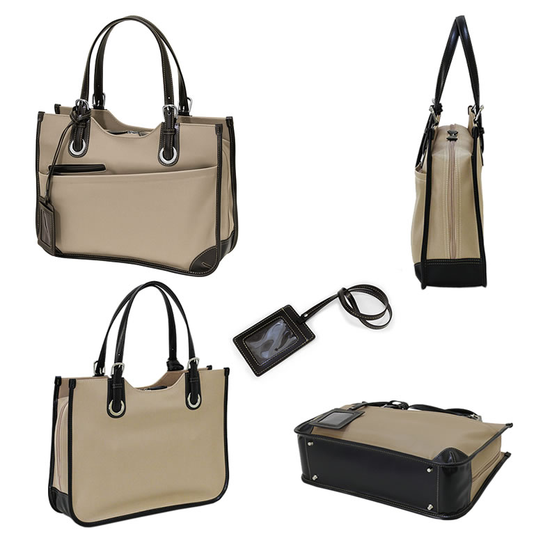 女士商務包婦女受歡迎的女性通勤袋工作業務 A4 尼龍肩 CHARMISS 萊拉魅力萊拉業務回袋存儲婦女銷售命中路-