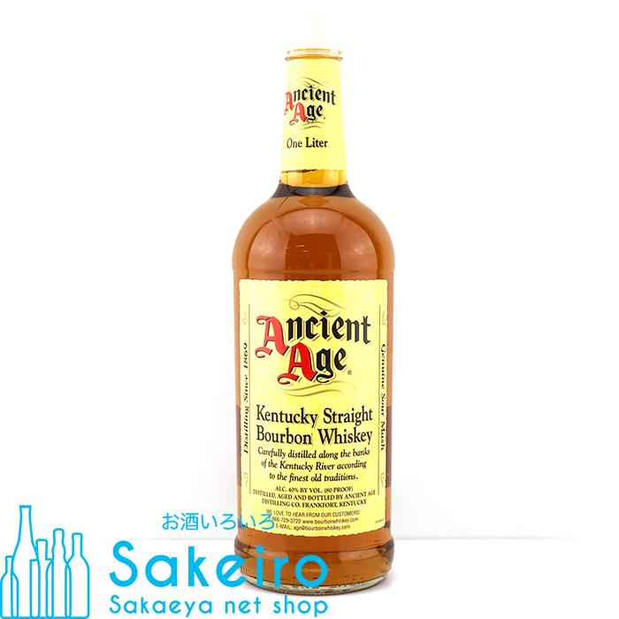 【あす楽】【バーボン・ウィスキー】 エンシェント エイジ 2A 40% 1000ml