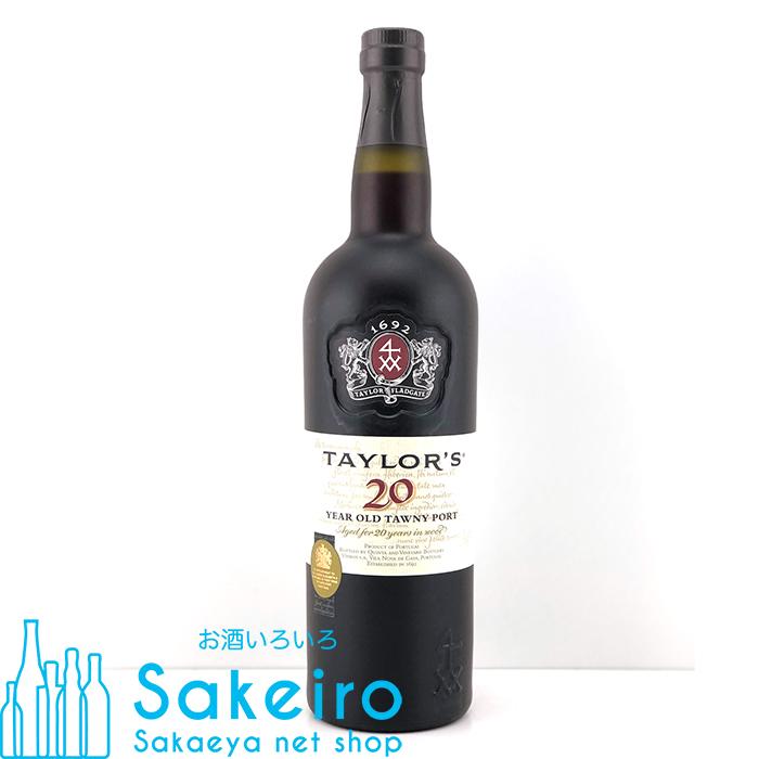 あす楽 ポートワイン 品質検査済 最新アイテム テイラー トウニーポート 750ml 20% 20年