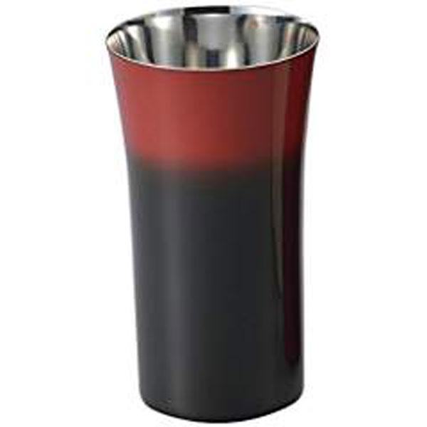 【送料無料】【アサヒ】SCS-S601 食楽工房 漆磨 シングルカップS(黒彩) JAN:4512553102668 【料理/食卓/食器/カトラリー/コップ/お酒/酒器】
