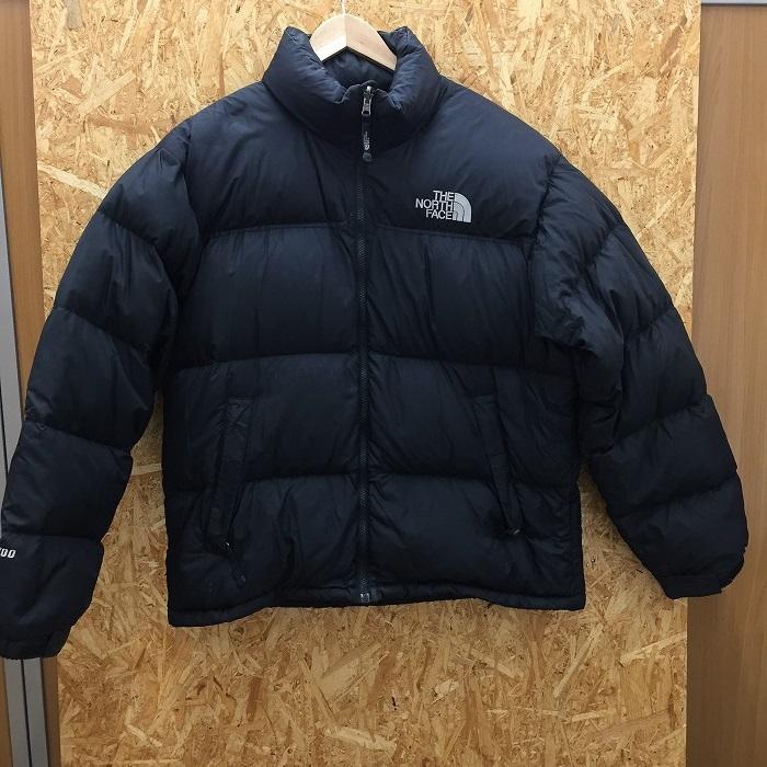 【中古】ザノースフェイス ヌプシ メンズ ダウンジャケット ND01586 ナイロン ブラック 表記サイズ:L[jggI]