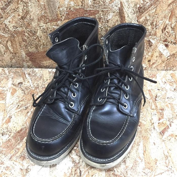 【中古】レッドウィング アイリッシュセッターメンズ ブーツ レザー ブラック 8179 サイズ:7 1/2[jggS]