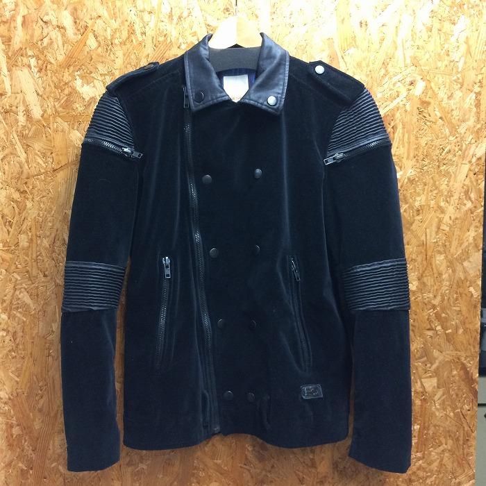 驚きの値段 DIESEL 中古 ディーゼル メンズ 未使用品 ジャケット 表記サイズ:S ブラック jggI