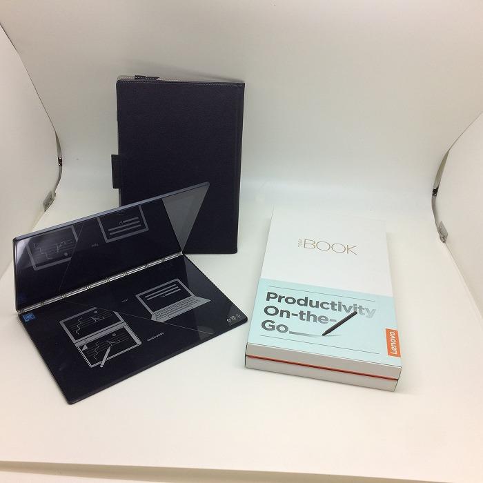【中古】レノボ タブレット ヨガブック 薄型ノートパソコン Windows10 10.1インチ ブラック YB1-X91F[jggZ]