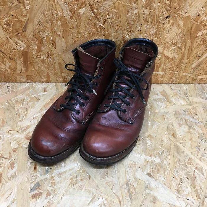 【中古】レッドウィング ベックマン メンズ ブーツ 9011 D ブラウン系 表記サイズ:27.0cm[jggS]