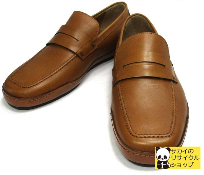 LOUIS VUITTON メンズシューズ ローファー ドライビングシューズ レザー ブラウン 表記サイズ 5 レザーシューズ 靴 【新品同様】【shoes】【送料無料】【メンズ】【中古】